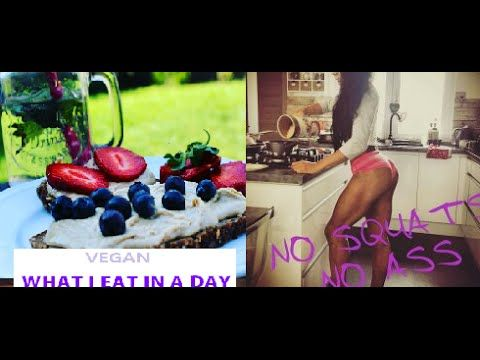 #1 Co jsem dnes jedla/VEGAN/ what I eat in a day/ veganfitness - YouTube