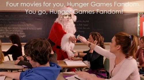 Four movies for you, Hunger Games fandom!
