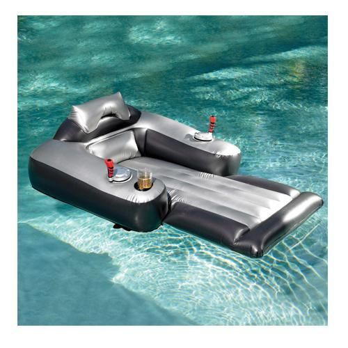 Floats for the lake motorized pool lounger lounge chair - Swimming pool floating lounge chairs ...