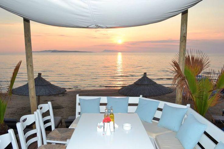 A memorizing sunset at the Kohili veranda...