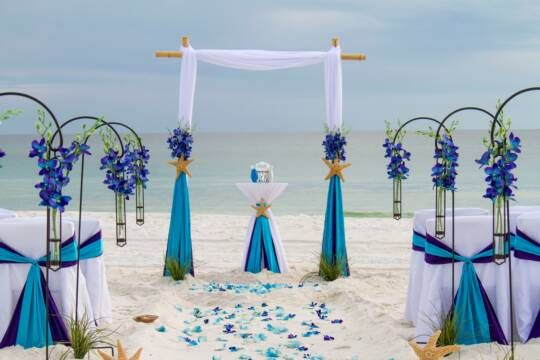 Barefoot Bliss beach wedding package