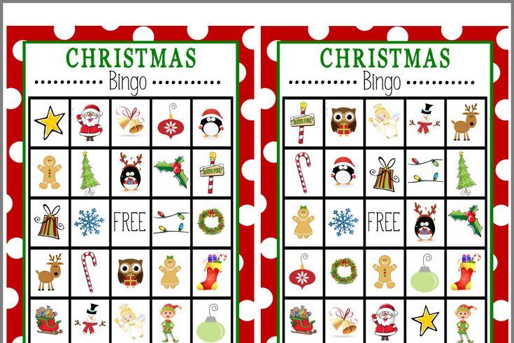 Weihnachtsbingo