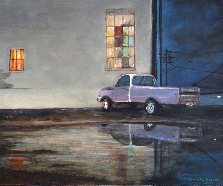 Obraz na spredaż: Nocna zmiana /galeria obrazów/ Sold