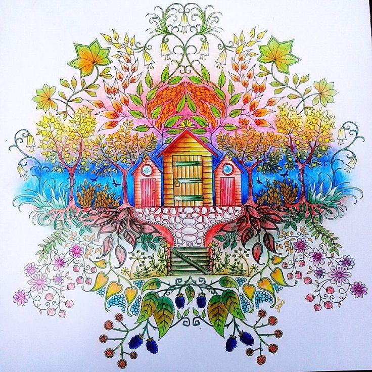 Coloring Colouring Coloringbook Colouringbook Secretgarden Secretgardencoloringbook Johannabasford