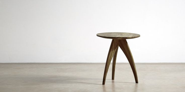 Oscar Dark Wooden Side Table | Swoon Editions