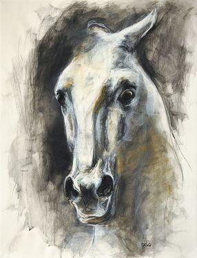 """Saatchi Online Artist Benedicte Gele; Drawing, """"Alerte III"""" #art"""