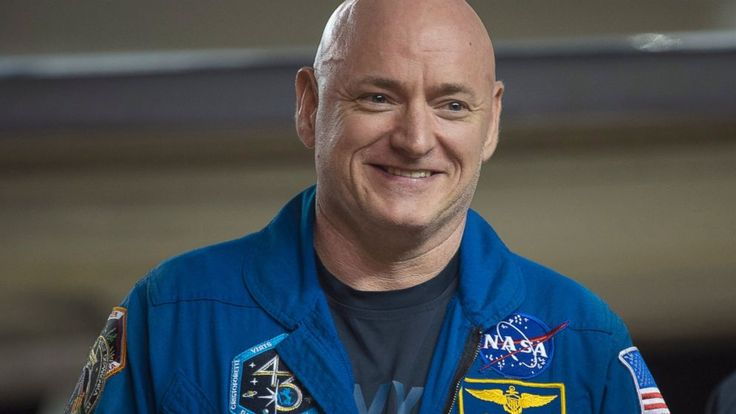 Astronaut Scott Kelly arrived in Houston where he was reunited with his family after a whirlwind year-long mission in space.