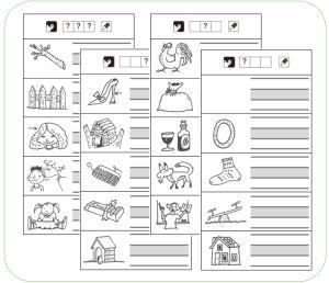 TaalSchrijven - Schrijf wat je hoort - Kern 4