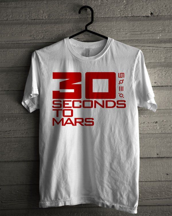 30 Seconds to Mars Logo Shirt | T-shirt Tees Tshirt Tanktop
