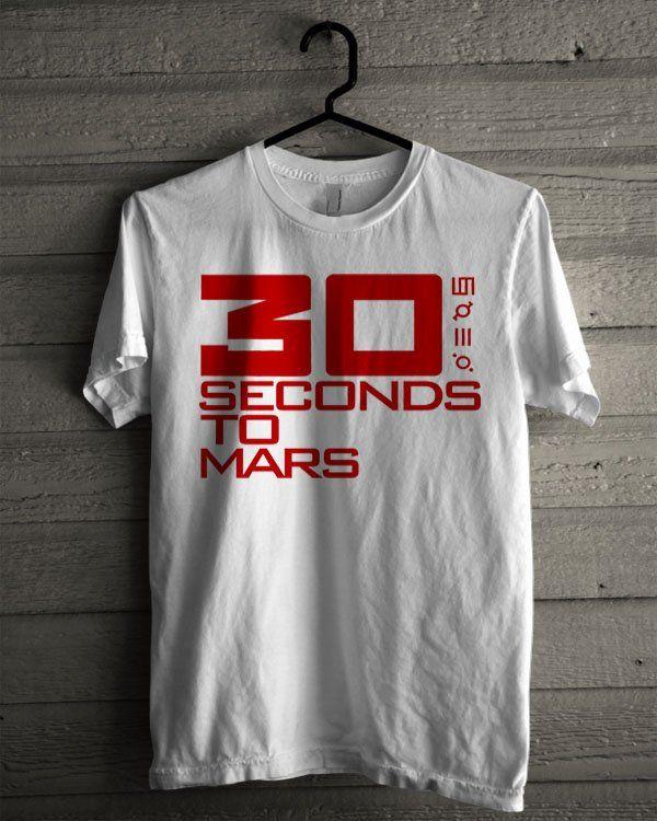30 Seconds to Mars Logo Shirt | T-shirt Tees Tshirt Tanktop