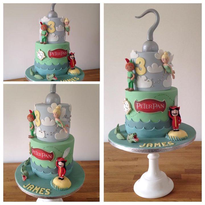Peter Pan Wedding Cake Topper