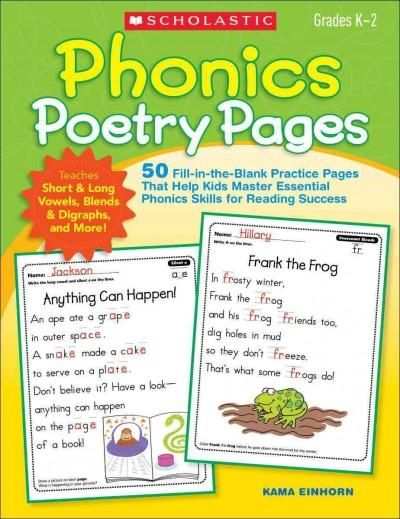 Kids will clamor to complete the charming poems on these ready-to-go pages. As…
