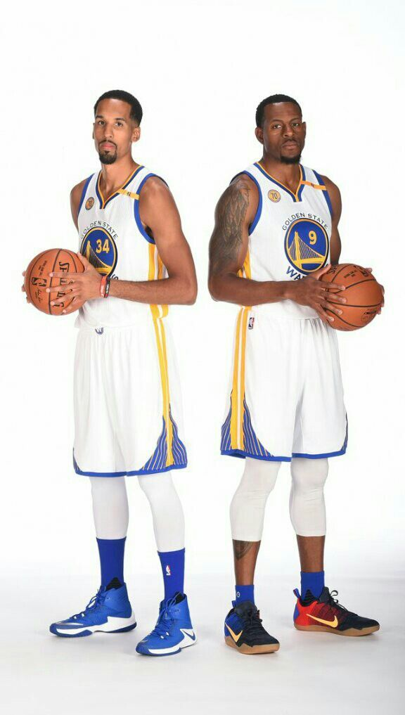 Shaun Livingston and Andre Iguodala