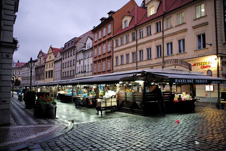 El mercadillo de Havel Praga