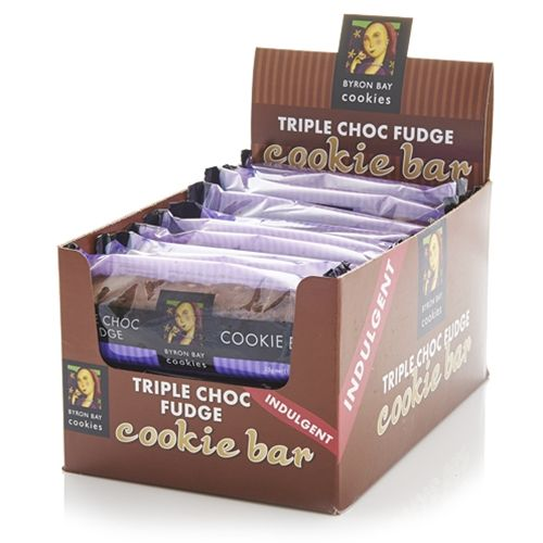 Order Wholesale Fresh Byron Bay Triple Choc Fudge Cookie Bars from Good Food Warehouse