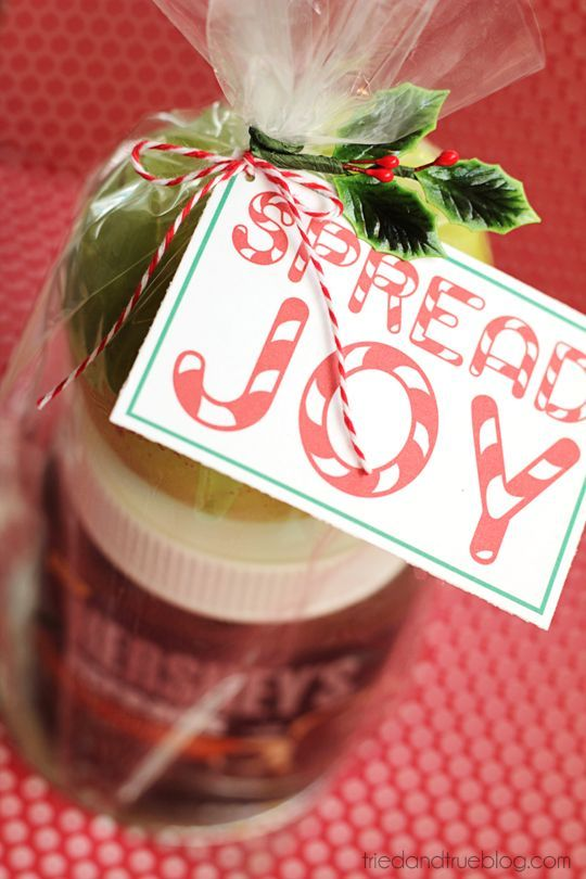 Quck and easy gift that comes together in minutes!