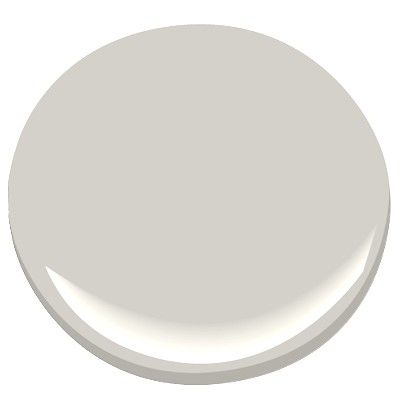 Our choice of colour for the main floor living room at hallway - Barren Plain - Benjamin Moore