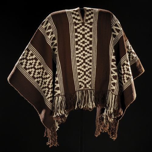 Man's Ponco Mapuche (Chile), 1920 The National Museum of the American Indian