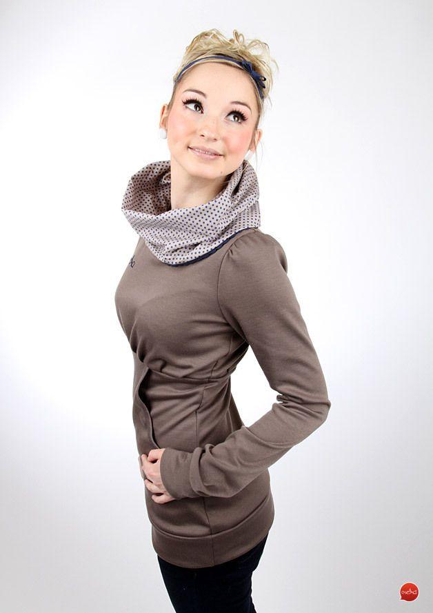 """Hoodies - MEKO Hoodie """"CARYNA_16SP5Punkt"""" - ein Designerstück von meko bei DaWanda"""