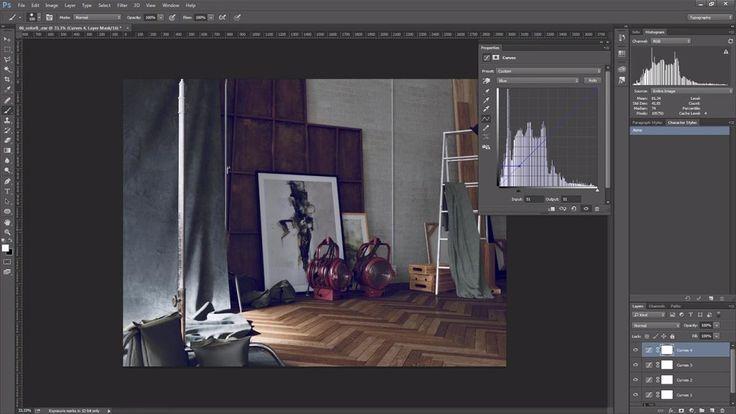 Introducción al ajuste de curvas en Photoshop