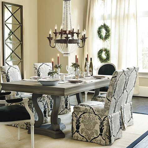 15 best luxury dining table rustic images on pinterest for Ballard designs dining room