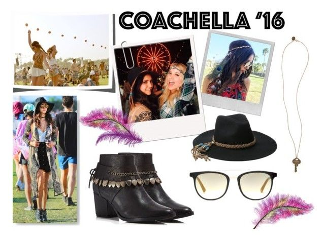 """Nina Dobrev - Coachella Style"" by desiresinstyle on Polyvore featuring moda, Polaroid, ále by Alessandra, Freda Salvador, Etnia Barcelona e The Giving Keys"