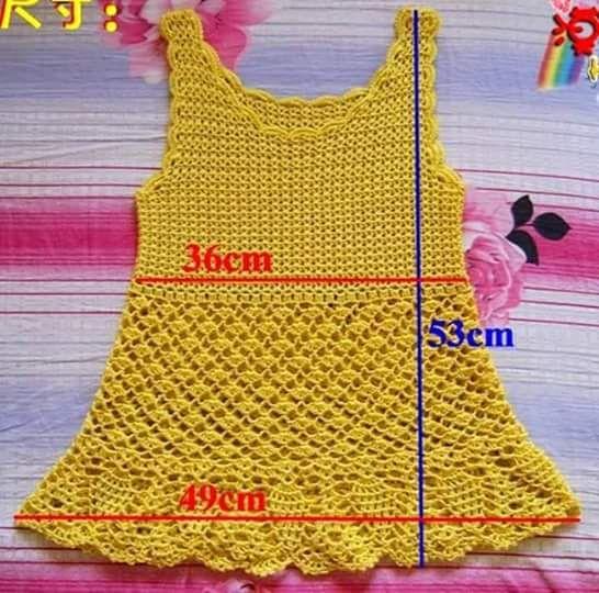 Luty Artes Crochet: Camiseta de crochê com passo a passo                                                                                                                                                                                 Mais