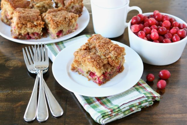 Cranberry Coffee Cake | Yummy Food/Drinks | Pinterest