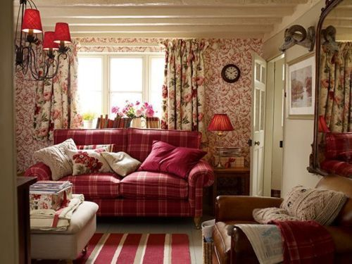 Laura-Ashley-Peony-Garden-Curtains-Cranberry-64-034-x-54-034-L-162-x-137cm-pink-floral
