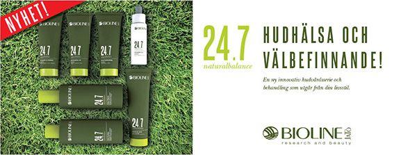 24.7 - Naturliga förädlade hudvårdsprodukter från Bioline