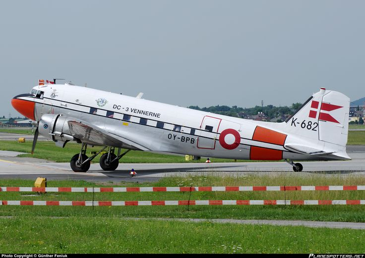 OY-BPB Royal Danish Air Force Douglas C-47A