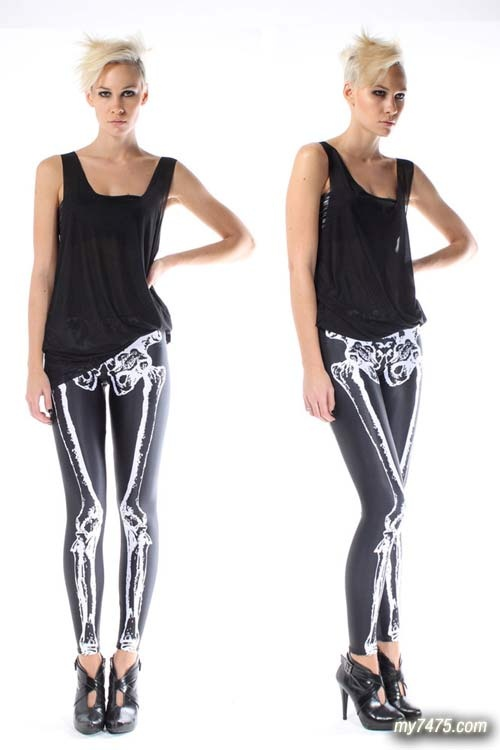 skelet legging