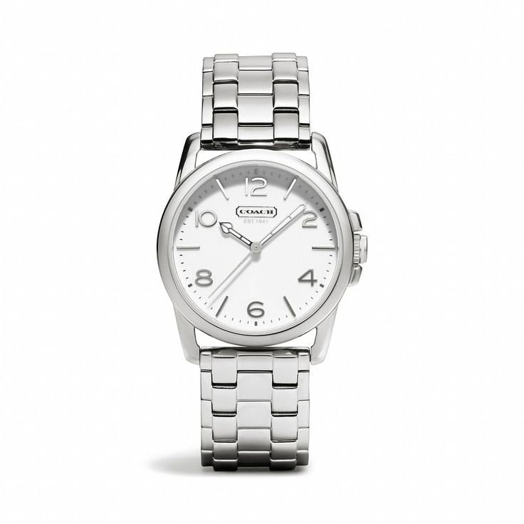 the sydney stainless steel bracelet from coach