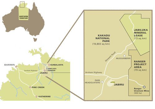 Jabiluka resource - Learn about uranium mining in Kakadu from the Gundjeihmi Aboriginal Corporation, the representative body of the Mirrar People, the traditional owners of Kakadu and Jabiluka site. [Gundjeihmi Aboriginal Corporation website]