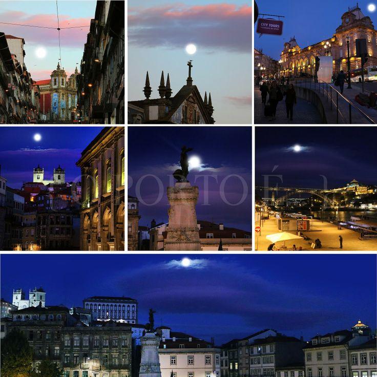 o Porto é... namorar a lua
