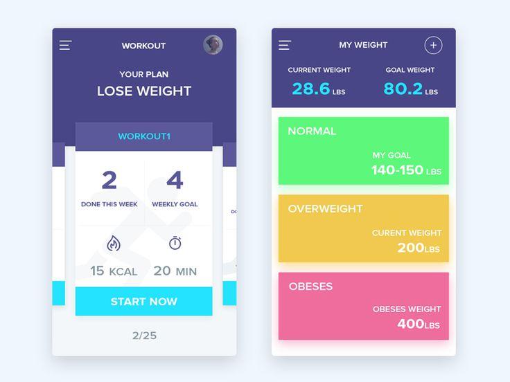 fitness app by Riko Sapto Dimo