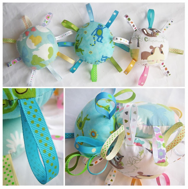 Cute baby toys - cant read the site but might use as inspiration