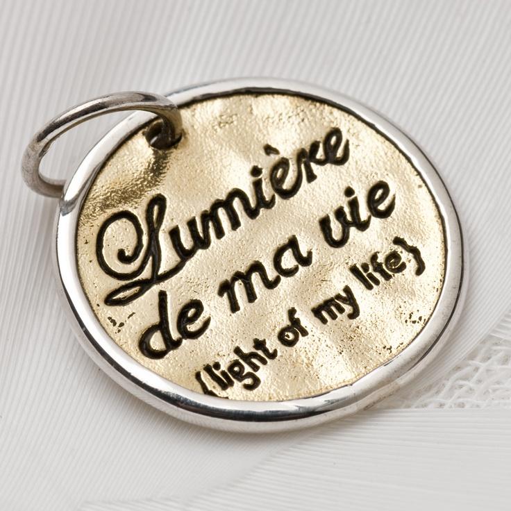 992 > 'Light of my life' charm- Palas Jewellery