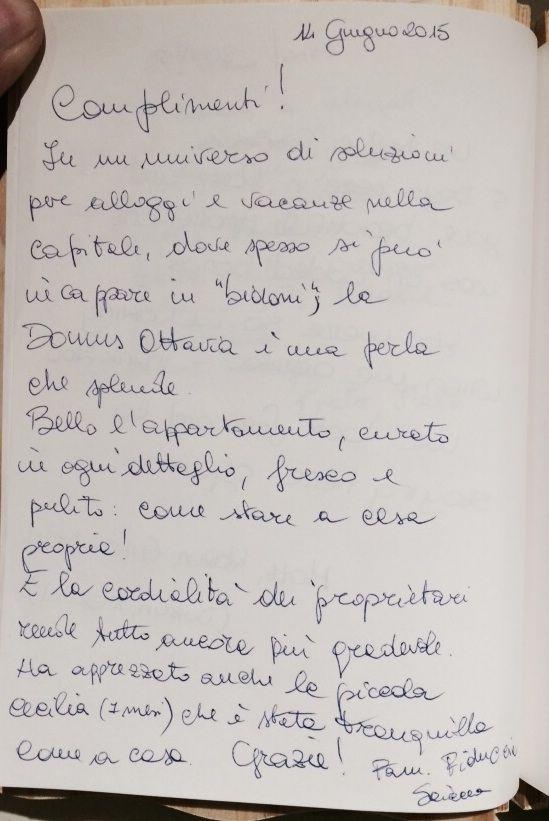 """10 dal diario della """"Domus Ottavia"""""""