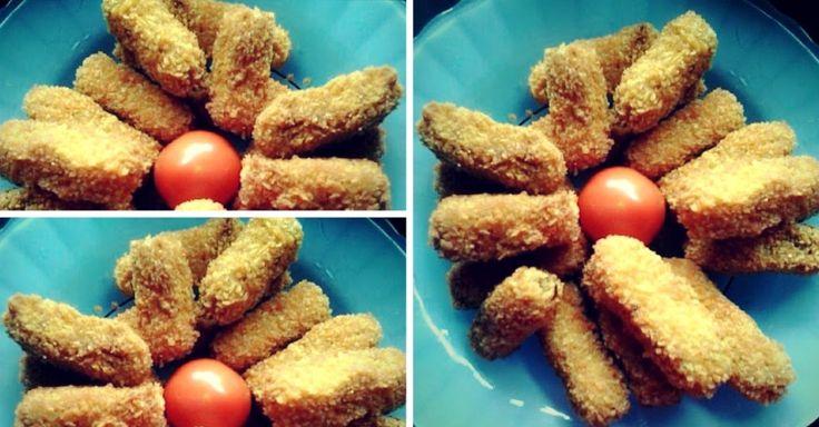 Membuat Nugget Tempe Sehat Berikut Resep membuat Nugget Tempe  Bahan  1 papan tempe 2 siung bawang putih 150 gram ayam giling garam merica bubuk  Lapisan luarnya kocokan telur 1 buah, tepung roti  Cara Membuat Nugget Tempe Sehat  1. kukus tempe dan ayam gilingnya. 2. Stlh matang hancurkan tempe dan daging giling smpe halus trz tmbhkn garam,mrica bubuk n telur. 3. Aduk sampai rata.  Bntuk sesuai selera boleh ditambahkn keju untuk isiannya  4 stlh itu gulingkn pd kcokn telur trz baluri dg…