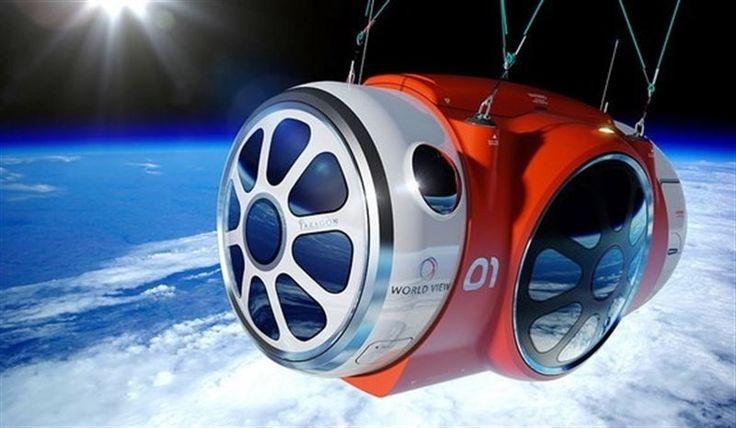 La directora general de la empresa World View, Jane Poynter, ha explicado que los viajes espaciales en globo que planea su empresa --capaz de elevar a los...