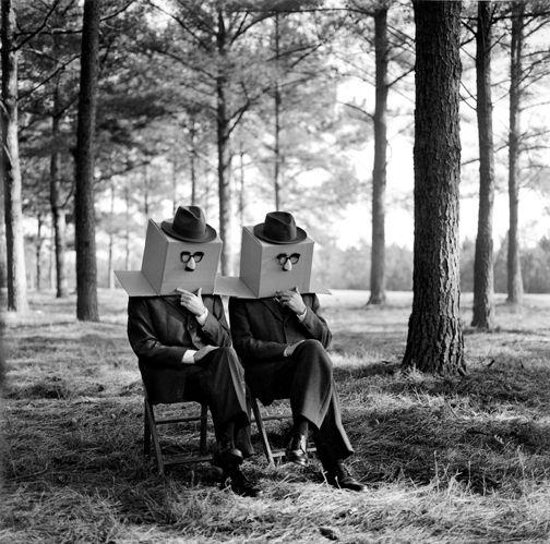 Rodney Smith, Guys with Boxes on Head, 2011: Rodneysmith, Black White Photography, Art Photography, Rodney Smith, Surrealism Photography, Photography Art, Men Photography, Smith Photography, Black White Photos