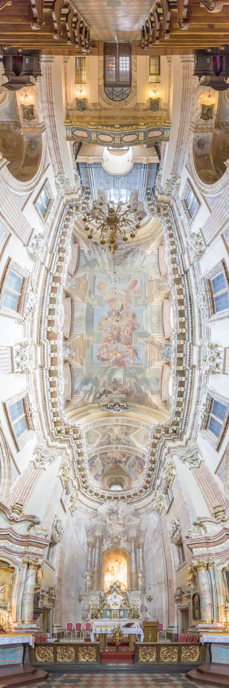 Vertical Churches: I Photograph Churches Around The World From The Perfect Perspective   Bored Panda