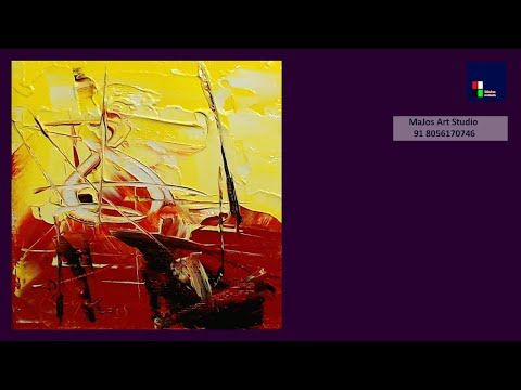 Colorful abstract painting for beginners. Satisfying | Screening # 6 – YouTube