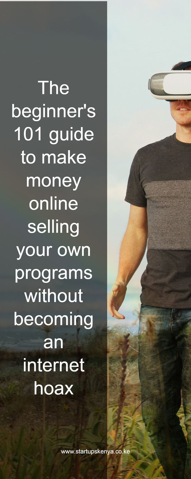 The beginner's 101 guide to make money online selling your own programs without becoming an internet hoax / www.startupskenya.co.ke