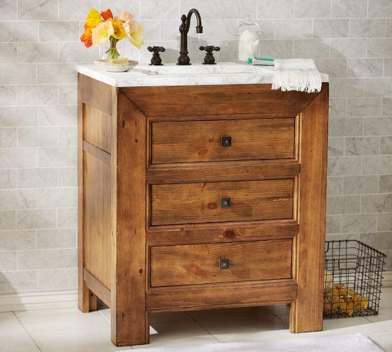 13 best basement bathroom vanity images on pinterest for Bobs furniture bathroom vanity