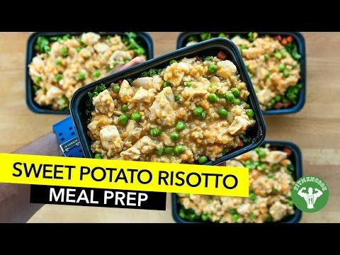 Sweet Potato Risotto Recipe & Meal Prep | Fit Men Cook