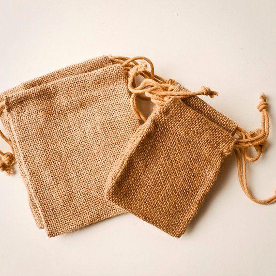 Download 200 Burlap Bags 3x5 Jute Natural Drawstring Sack Rustic Etsy Burlap Bags Burlap Favor Bags Burlap