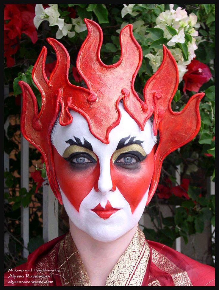 Google Image Result for http://3.bp.blogspot.com/_Pu2jyF_jM7Q/TOVUPDO86EI/AAAAAAAAAD4/GK4Q9iNaSE8/s1600/fire-fantasy-makeup.jpg