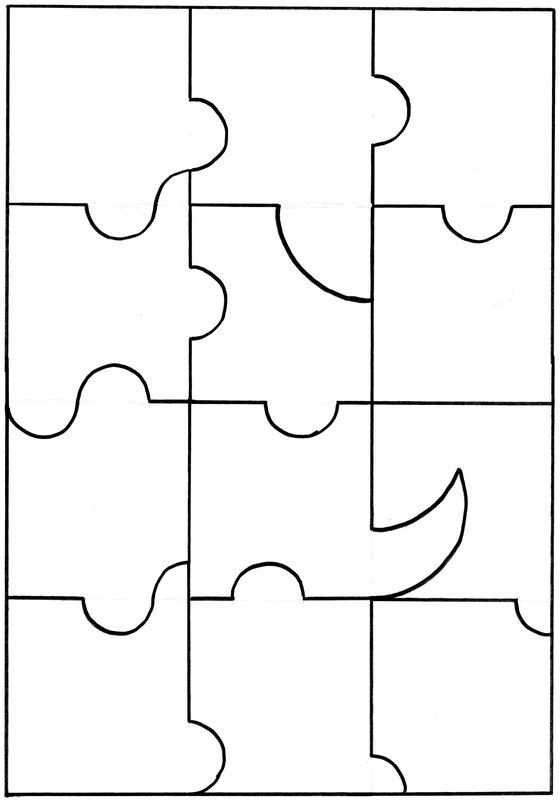 313 best images about puzzle sur pinterest jeux de for Puzzle a colorier